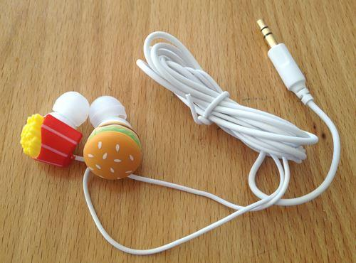 DCI Burger and Fries Earbuds