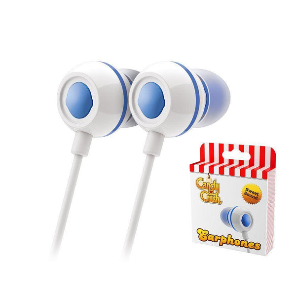 Candy Crush In Ear Headphones - Blueberry
