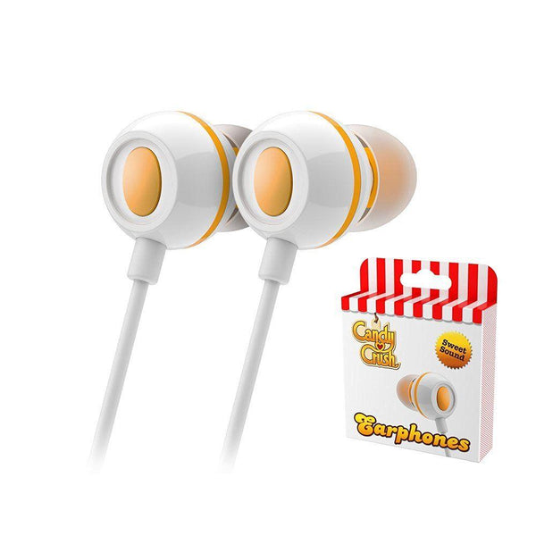 Candy Crush In Ear Headphones - Mango