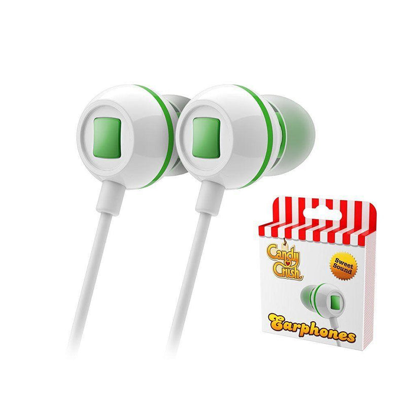 Candy Crush In Ear Headphones - Apple