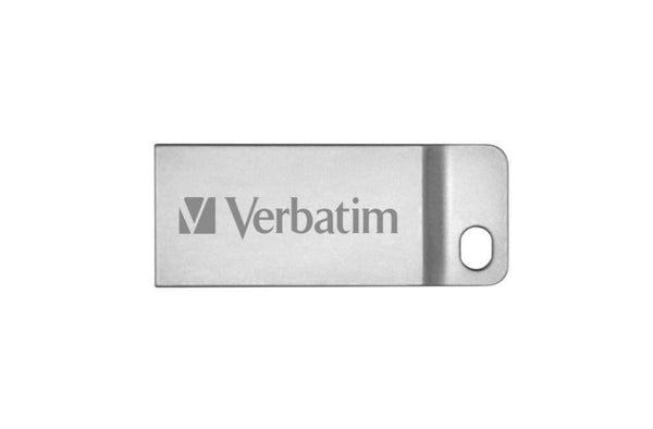 Verbatim 64GB Metal Executive Flash Drive, USB2.0 Silver