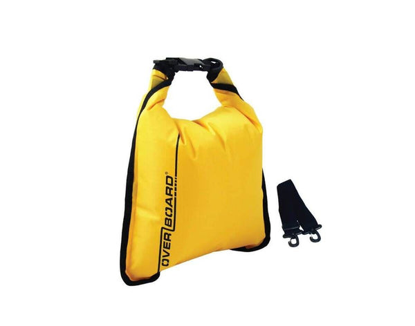 Overboard 5 Litre Dry Flat Bag Yellow