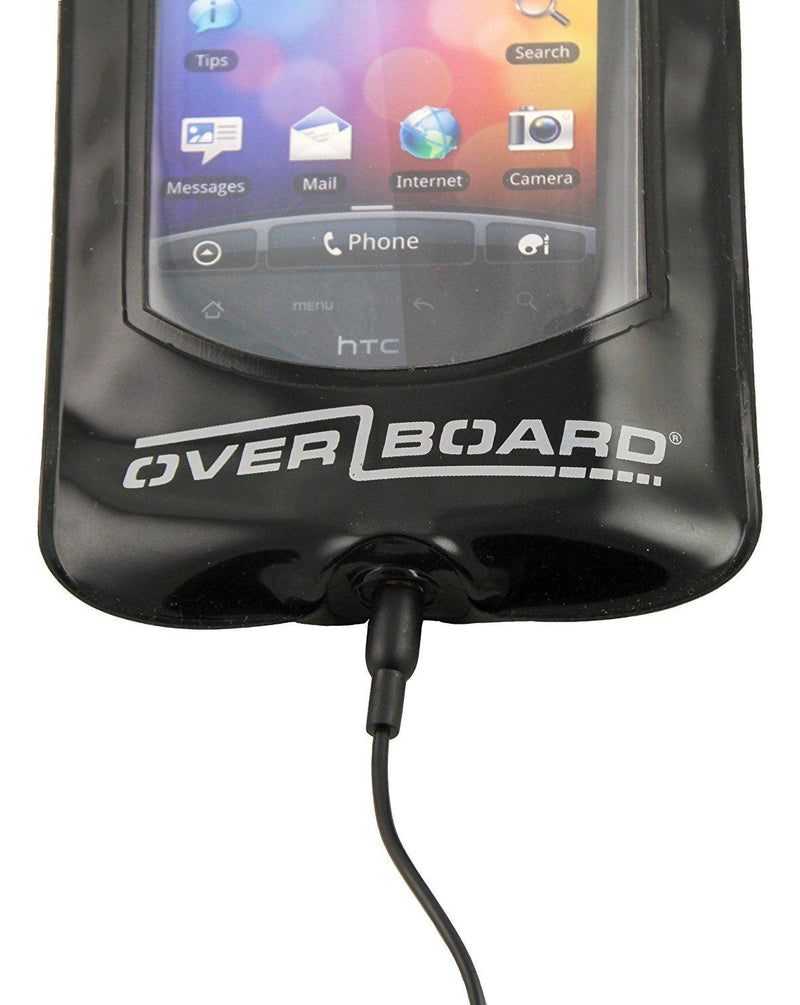 Overboard Waterproof Smart Phone Case- Black