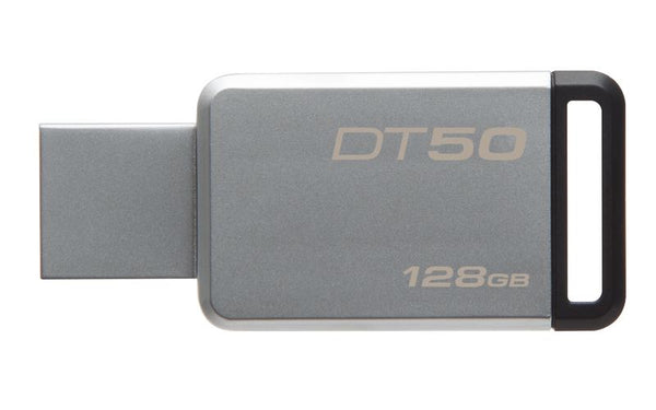 Kingston 128GB DataTraveller 50 Metal USB3.1 Flash Drive