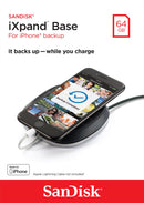 Sandisk 64GB iXpand Base Charge/Backup for Iphone