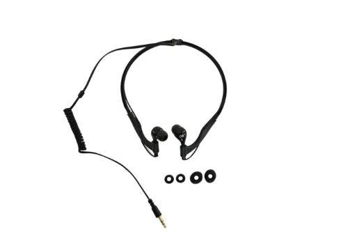 Overboard ProSport Waterproof Headphones- Black