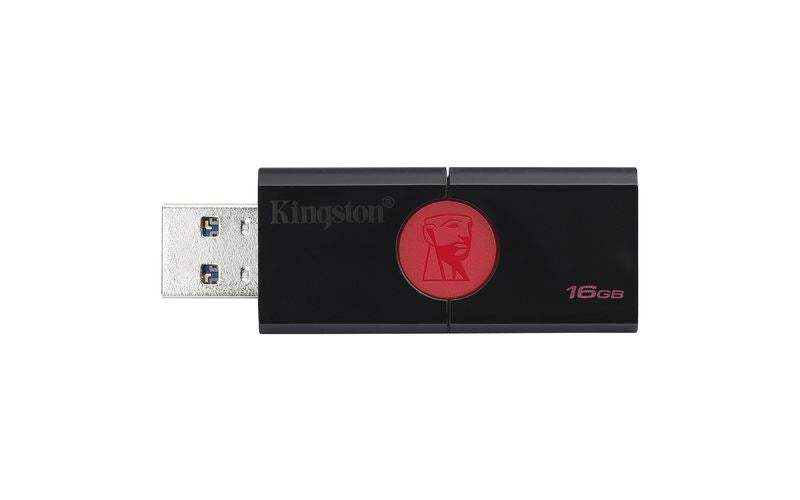 Kingston 16GB Data Traveller 106 Sliding USB3.1 Flash Drive