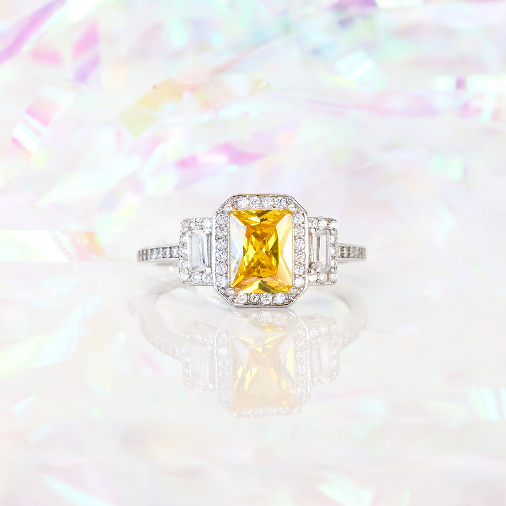 Citrine Ring Royal Essence