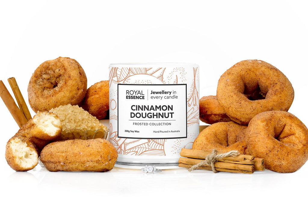 Cinnamon Doughnuts Jewellery Candle - Millennial Candle gifting guide