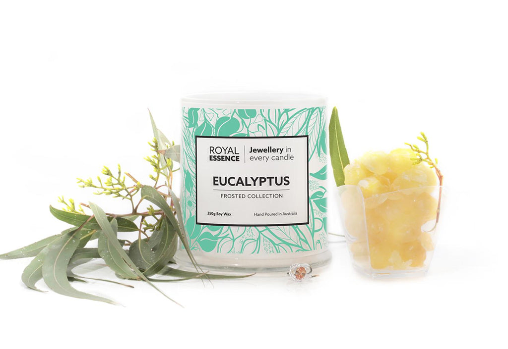 Eucalyptus Jewellery Candle - Millennial Candle gifting guide