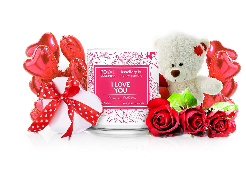 I Love You Occasions Jewellery Candle - Millennial Candle gifting guide