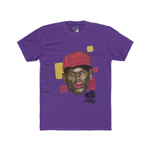 """Ace Boogie Ortworks"" Men's Cotton Crew Tee by Ortie - GaleraCollective"