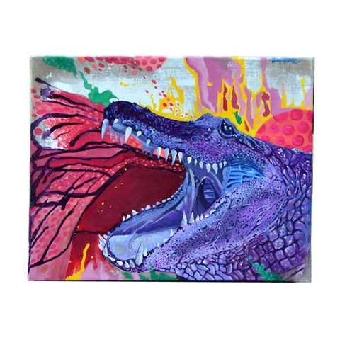 Purple Gator by Lobsta - GaleraCollective