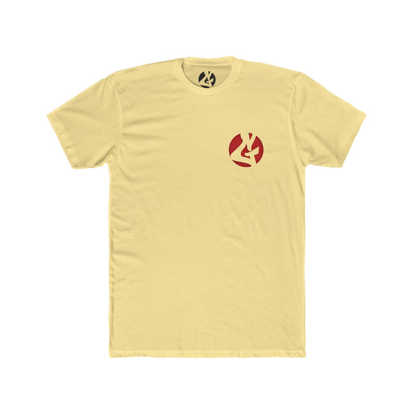"""Gee"" Men's Cotton Crew Tee by GoopMassta - GaleraCollective"