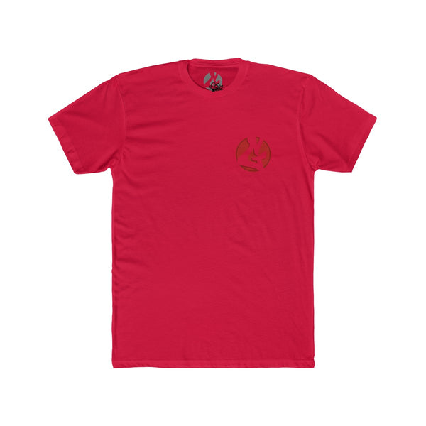 SoFlo Flamingo Men's Cotton Crew Tee by Ripes - GaleraCollective