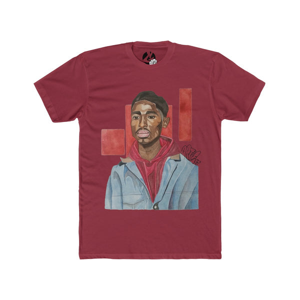 """Bishop/Who got the Juice"" Men's Cotton Crew Tee by Ortie - GaleraCollective"
