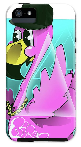 Soflo Flamingo - Phone Case by Ripes - GaleraCollective