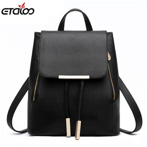 New tide girls backpack fashion casual Korean version of backpack - leathernbags