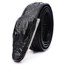 Mens Belts Luxury cow Leather Designer Belt Men High Quality Ceinture Homme Cinto Masculino Luxo Crocodile Cinturones Hombre - leathernbags