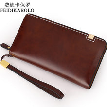 BOLO Brand Bag Men clutch Bags Luxury Male Leather Purse Monederos Carteras Mujer  Men's Clutch Wallets Handy Bags Man Wallets - leathernbags