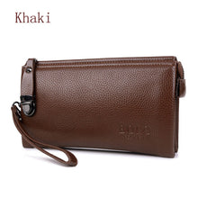 FEIDIKABOLO Famous Brand Men Wallet Luxury Long Clutch Handy Bag Moneder Male Leather Purse Men's Clutch Bags carteira Masculina - leathernbags