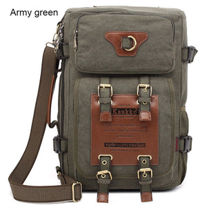 Marke Stilvolle Reise New Vintage Rucksack Canvas Backpack Leisure Travel Schoolbag Unisex Laptop Backpacks For Men - leathernbags