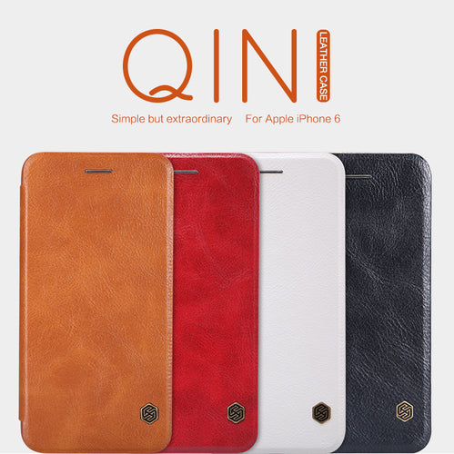 NILLKIN Qin Series Wallet Flip Leather Case For Apple iPhone 6S (4.7