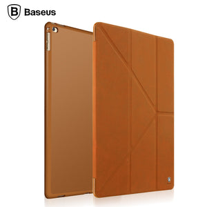 Baseus For iPad Pro 12.9 Inch Case Magnetic Slim Foldable Full Body Leather Cover Case With Stand Holder For Apple iPad Pro 12.9 - leathernbags