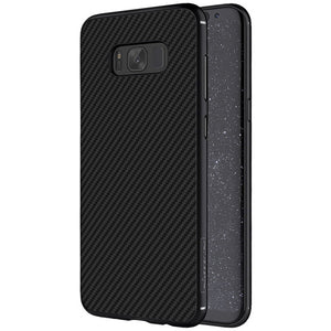 "For samsung Galaxy S8 Case 5.8"" NILLKIN Synthetic Fiber Back Cover Case PP back shell for samsung galaxy s8 Plus S8+ case 6.2"" - leathernbags"