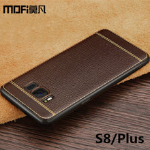 for Samsung S8 case silicon Samsung galaxy S8 plus case cover G9500 capas back protective fundas luxury soft TPU S8+ MOFi cases - leathernbags
