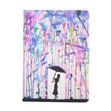 Fashion Cartoon Case For Apple New iPad 9.7Case Smart Cover Funda Tablet Model A1822 A1823 PU Leather Flip Stand Shell - leathernbags