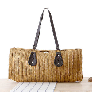 Beach Bags Women Large Women Tote Bags  Woven Straw Handbags Summer Fashion Women Messenger Bags Vintage Ladies - leathernbags