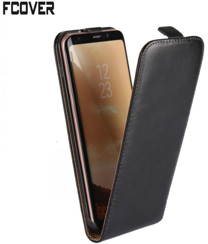 For Samsung S8 Flip case, Genuine Leather Case Pouch Flip Cover For Samsung Galaxy S8 Plus - leathernbags