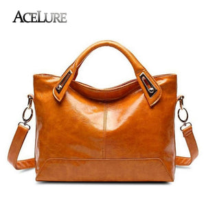 ACELURE Women Messenger Bags  New Fashion PU Leather Women's Shoulder Bag Crossbody Bags Casual Famous Brand Ladies Handbags - leathernbags