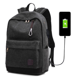 High Quality Laptop Computer Backpack Bag With USB Charger For 15-17inch Notebook Waterproof Travel Laptop Bag For Men Women |  USA I USA - leathernbags
