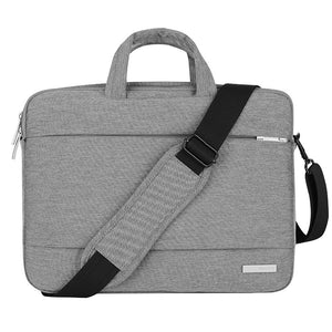 New Laptop Bag 15.6 inch for MacBook Pro Air 13 14 15 inch Solid Notebook Shoulder Messenger Bags Case for Acer Lenovo Dell Men - leathernbags