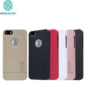 NILLKIN Super Frosted Shield case for iPhone 5S/iPhone SE/iPhone 5SE/iPhone 5e/iPhone 7c (4.0inch) with screen protector