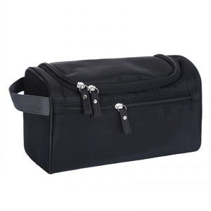Waterproof men's cosmetic bag nylon travel organizer make-up lady large necessities cosmetics toilet bag - leathernbags