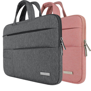 Men Women Portable Notebook Handbag Air Pro 11 12 13 14 15.6 Laptop Bag/Sleeve Case For Dell HP Macbook Xiaomi Surface pro 3 4 - leathernbags