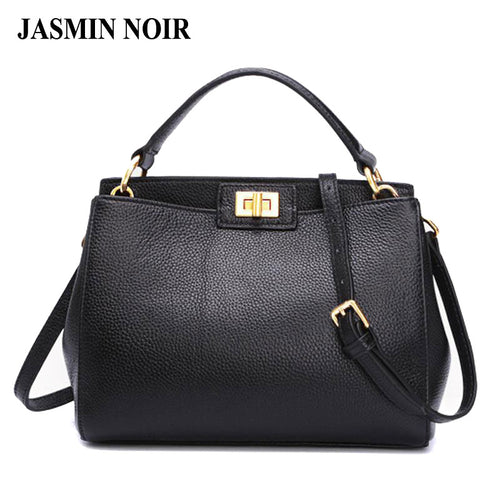 2017 Fashion new Women Leather Handbags Litchi ladies messenger bag crossbody bag Brand designer tote bag bolsos mujer de - leathernbags