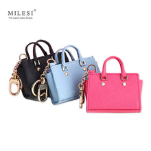 MILESI Women's Good Taste Mini Wings Bags Hang Queen Style Keychain for Handbags Change Purse MP372 - leathernbags