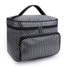 Do Not Miss Women Cosmetic Makeup Bag Folding Travel Makeup Organizer Bag Waterproof Cosmetic Bag Makeup Brushes Case Wash Bags - leathernbags