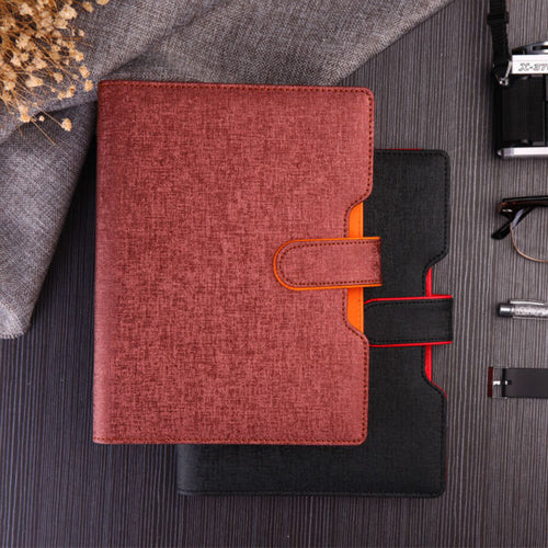 a5 25K sprial hasp leather travel journal agenda planner diary planners agendas notebook organizer creative trends filofax 1079A - leathernbags