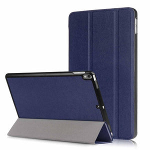 For Coque iPad Pro 10.5 Case Business Style Trifold Folio Book PU Leather Stand Case Cover for iPad Pro 10.5 Auto Sleep Wake up - leathernbags