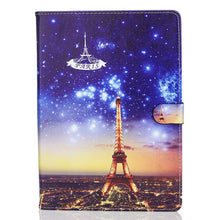 Fashion Cartoon Painted Case Cover For Apple New iPad 9.7 Funda cases For iPad Air 1 2 iPad Pro 9.7 PU Leather Stand Shell - leathernbags
