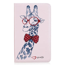 Kindle Fire 7 Case  Fashion Painted PU Leather Funda Tablet Cartoon pattern Flip Stand Case Cover For Amazon Kindle Fire 7"