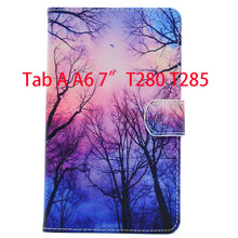 Tab a6 7.0 Case For Samsung Galaxy Tab A 7.0 T280 T285 SM-T280 Case Cover Funda Tablet Fashion Cartoon Leather Flip Shell |  USA I USA - leathernbags