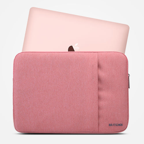 Laptop Sleeve for Macbook Pro Air 13 12 Case Cover Women Men Solid Waterproof 13.3 15.4 inch Laptop Bag for Mac book Pro 15 Case - leathernbags