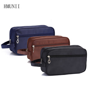 2017 New Women's Men's Large Waterproof Cosmetic Bags Travel Cosmetic Bag Tissue Necessity Cosmetics Toilet Bag - leathernbags