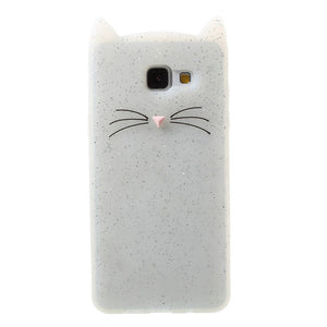 For Samsung A5 Case Moustach Cat Soft Silicone Mobile Shell Cover Case For Samsung Galaxy A5  A510 - leathernbags
